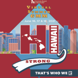 2021 HBR Virtual Summer GMM: HI Strong; That's Who We R!