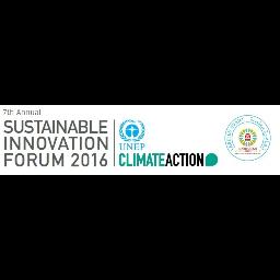 Sustainable Innovation Forum 2016
