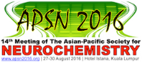 14th Meeting of the Asian-Pacific Society for Neurochemistry