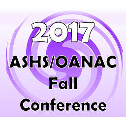 2017 ASHS/OANAC Fall Conference and Annual Meeting