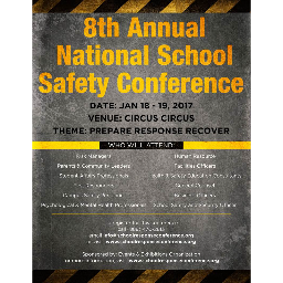 8th National School Response Conference 2017