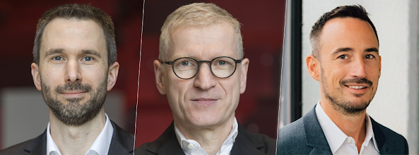Prof. Ahlemann, Prof. Schütte & Prof. Stieglitz