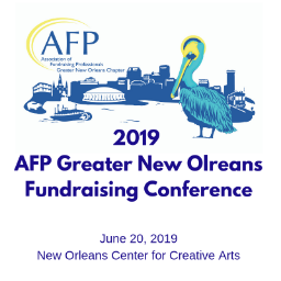 2019 AFP Greater New Orleans Fundraising Conference